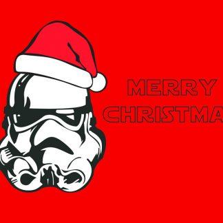 A Stormtrooper's Christmas - julkort