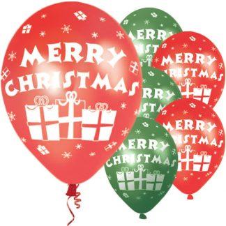 Ballonger Merry Christmas 6-pack