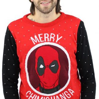 Deadpool Jultröja Merry Chimichanga