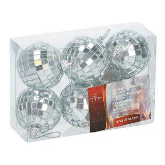 Julgranskulor Discobollar - 6-pack