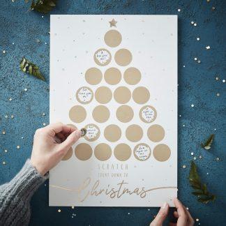 Julkalender Guld