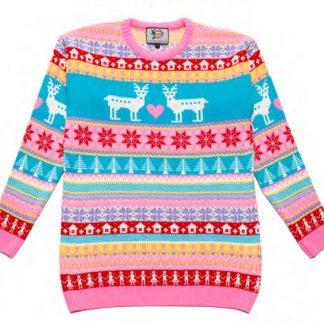 Jultröja Barn Pink Deer