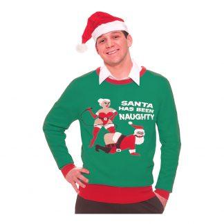 Jultröja Naughty Santa - Medium