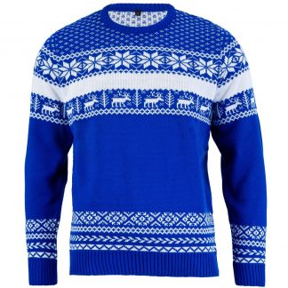Jultröja Nordic Christmas Blå