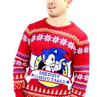 Jultröja Sonic Merry Christmas