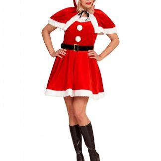 Miss Santa Tomtedräkt 3 Delar