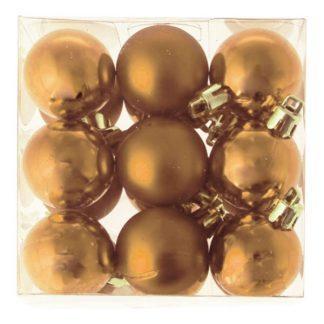 Julgranskulor Guld Små - 18-pack