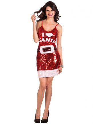 Julklänning I Love Santa