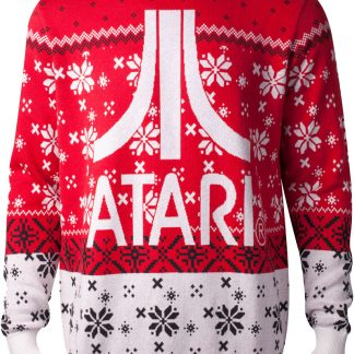 Röd Licensierad Atari Jultröja