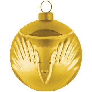Alessi - Guldiga julgranskulor, Ängel
