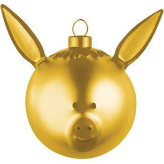 Alessi - Guldiga julgranskulor, Åsna