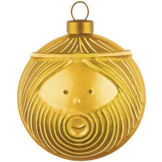 Alessi - Guldiga julgranskulor, Josef