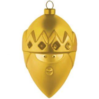 Alessi - Guldiga julgranskulor, Kasper