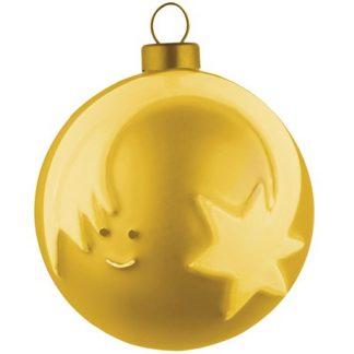 Alessi - Guldiga julgranskulor, Stjärna