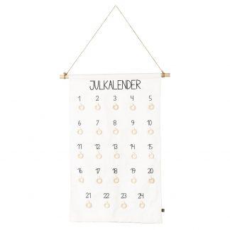 Designtorget Julkalender vit DIY 58x77cm