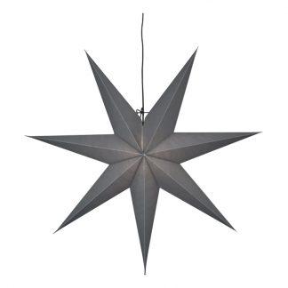 Julstjärna Grå - 70 cm