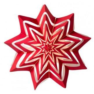 Julstjärna, Storm 60 cm, röd
