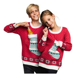 Julstrumpa Jultröja för Barn - Small