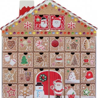 Gingerbread House - Julkalender 40x39 cm