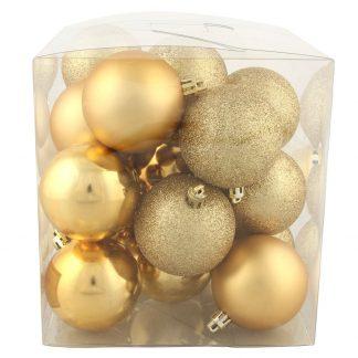 Julkulor Guld 20-pack