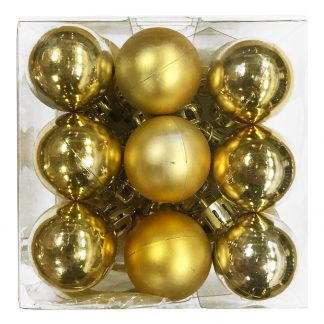 Julkulor Mini Guld 18-pack