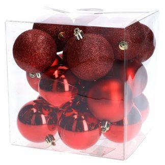 Julkulor Röd 20-pack