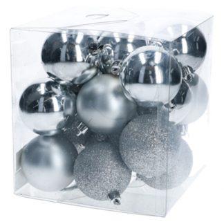 Julkulor Silver 20-pack