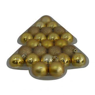 Julkulor Guld - 24-pack