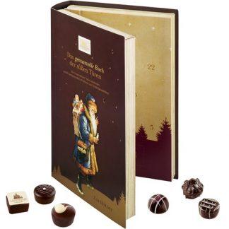 Adventskalender Bok - Mörk choklad, 2020