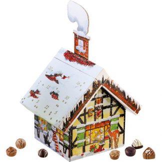 Adventskalender Hus - Choklad, 2020