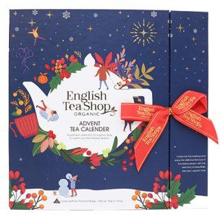 *FÖRBOKNING* Te-Adventskalender Ekologisk (Blå förp.) - English Tea Shop