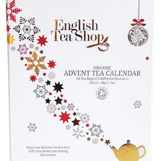 *FÖRBOKNING* Te-Adventskalender Ekologisk (Vit förp.) - English Tea Shop