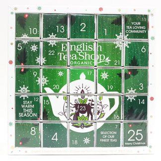 *FÖRBOKNING* Te-Adventskalender (ekologisk), Grön - English Tea Shop