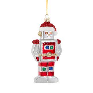 Julgranskula Robot jultomte