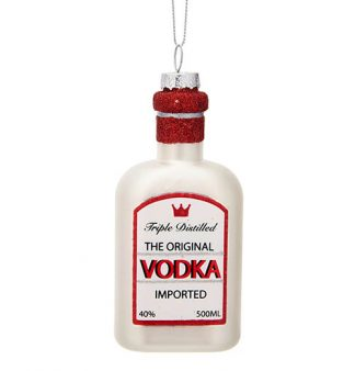 Julgranskula Vodkaflaska