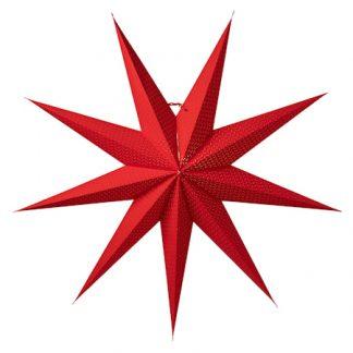 Aino Julstjärna Röd 100 cm