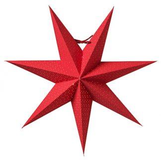 Aino Julstjärna Röd 44 cm