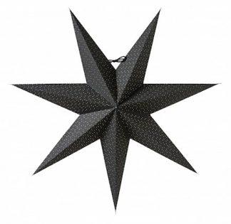 Aino Julstjärna Svart 60 cm