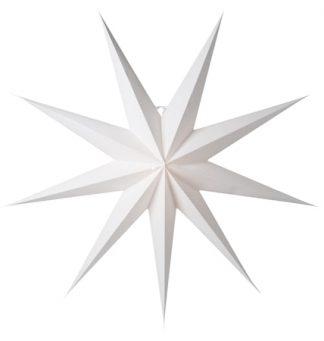 Aino Julstjärna Vit 118 cm