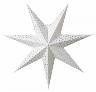 Asta Julstjärna Silver 60 cm