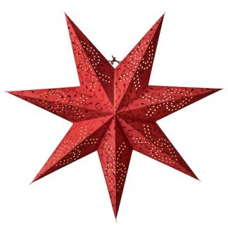 Beatrix Julstjärna Röd 72 cm