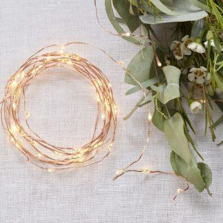 Belysningsslinga LED Guld