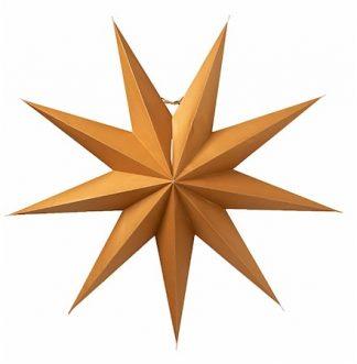 Boris Julstjärna Guld 70 cm