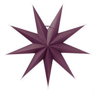 Boris Julstjärna Lila 70 cm