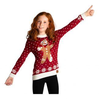 Galen Pepparkaka Jultröja för Barn - Small