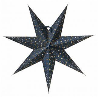 Isadora Julstjärna Blå 60 cm