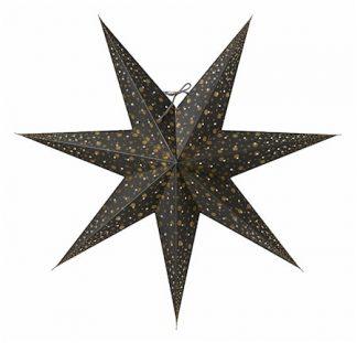 Isadora Julstjärna Grå 60 cm