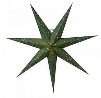 Isadora Julstjärna Grön 80 cm