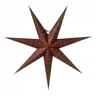 Isadora Julstjärna slim 80 Vinröd