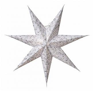 Linnea Julstjärna Silver 60 cm